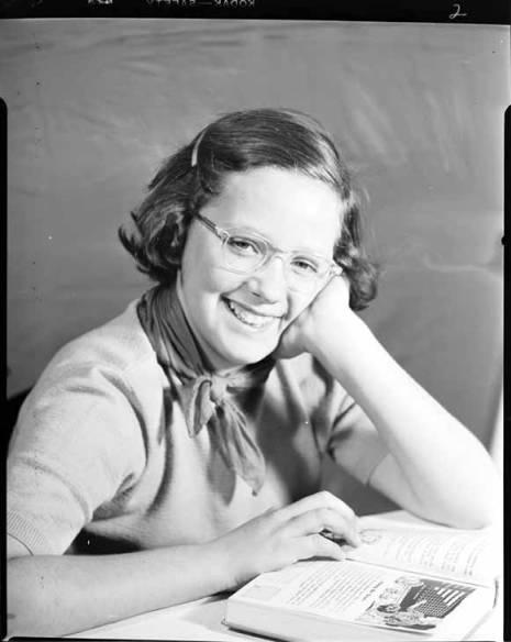 item thumbnail for Helen Laughlin, 1950