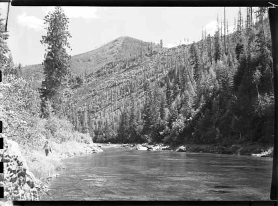 item thumbnail for Saint Joe River (Idaho), 1946