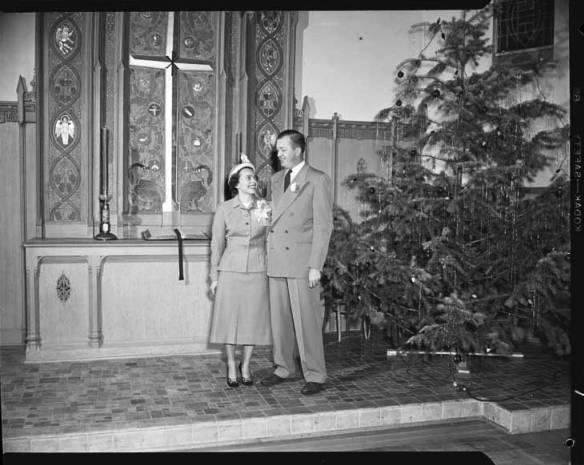 item thumbnail for Don Wilson wedding, 1950 [1]