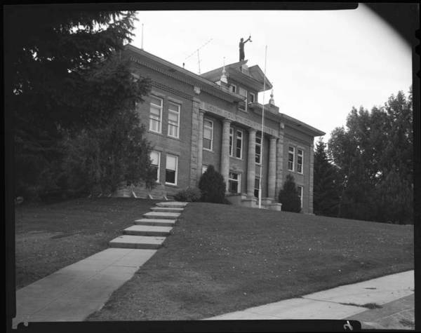 item thumbnail for County Courthouse Lemhi, 1967