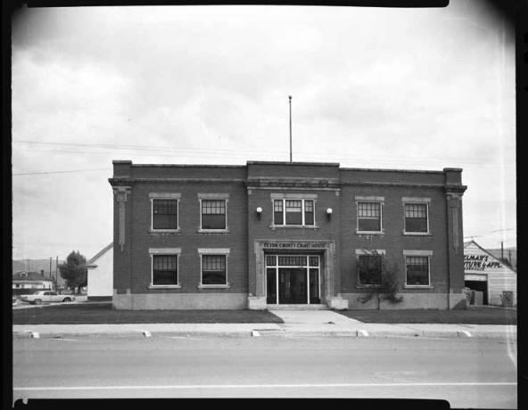 item thumbnail for County Courthousem Teton, 1967