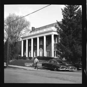 item thumbnail for University of Idaho, Kappa Sigma house, 1959 [1]