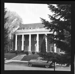 item thumbnail for University of Idaho, Kappa Sigma house, 1959 [2]