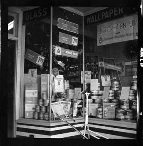 item thumbnail for Moscow (Idaho), store front, 1959 or 1960 [1]