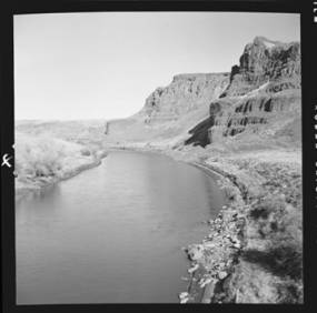 item thumbnail for Palouse River from the Northern Pacific bridge