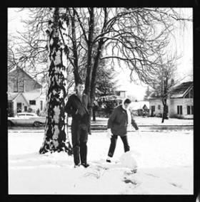 item thumbnail for Laughlin family at Christmas, 1959 [2]