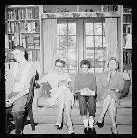 item thumbnail for Laughlin family at Christmas, 1959 [7]