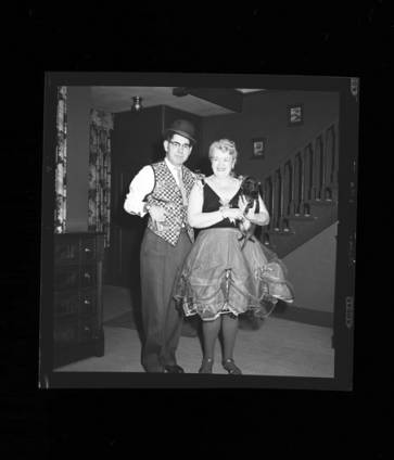 item thumbnail for New Year's costume party, 1960 [1]