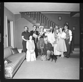 item thumbnail for New Year's costume party, 1960 [5]