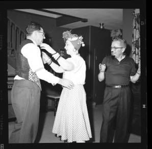 item thumbnail for New Year's costume party, 1960 [10]
