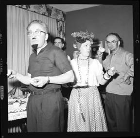 item thumbnail for New Year's costume party, 1960 [14]