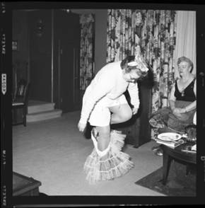 item thumbnail for New Year's costume party, 1960 [16]