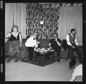item thumbnail for New Year's costume party, 1960 [18]