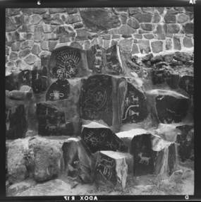item thumbnail for Ginkgo Petrified Forest State Park, Petroglyphs, 1960 [1]