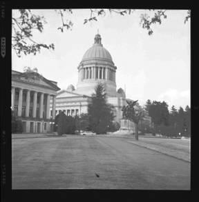 item thumbnail for Washington State capitol building, 1960 [1]