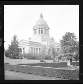 item thumbnail for Washington State capitol building, 1960 [3]