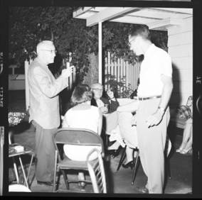 item thumbnail for Poker Club party at the Laughlin house, 1960 [2]