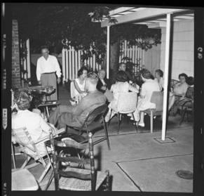 item thumbnail for Poker Club party at the Laughlin house, 1960 [3]