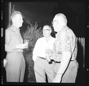 item thumbnail for Poker Club party at the Laughlin house, 1960 [4]
