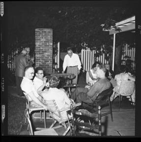 item thumbnail for Poker Club party at the Laughlin house, 1960 [6]