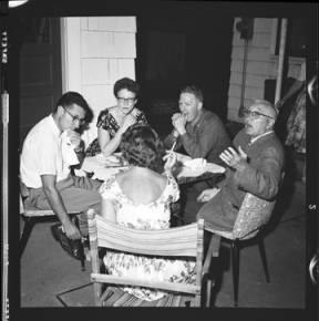 item thumbnail for Poker Club party at the Laughlin house, 1960 [7]