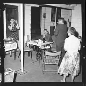 item thumbnail for Poker Club party at the Laughlin house, 1960 [9]