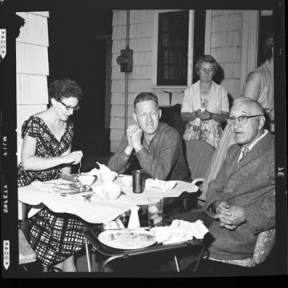 item thumbnail for Poker Club party at the Laughlin house, 1960 [14]