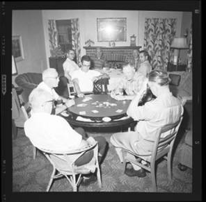 item thumbnail for Poker Club party at the Espe house, 1960 [1]