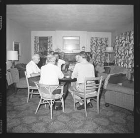 item thumbnail for Poker Club party at the Espe house, 1960 [2]