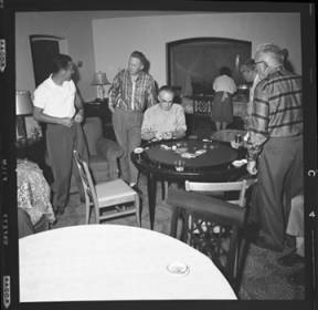 item thumbnail for Poker Club party at the Espe house, 1960 [3]
