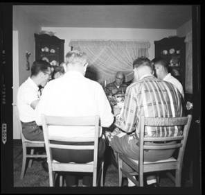 item thumbnail for Poker Club party at the Espe house, 1960 [5]