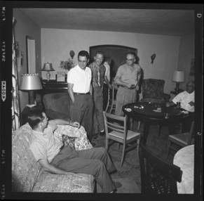 item thumbnail for Poker Club party at the Espe house, 1960 [6]