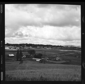 item thumbnail for Moscow (Idaho) Eastgate from Cemetery Hill, 1960 [1]