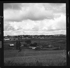 item thumbnail for Moscow (Idaho) Eastgate from Cemetery Hill, 1960 [2]