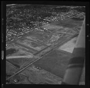 item thumbnail for Moscow (Idaho) aerial view of Eastgate, 1960 [1]