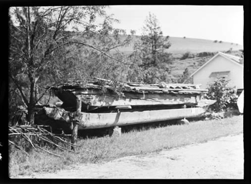 item thumbnail for Lewis and Clark canoe at Spalding (Idaho), 1938