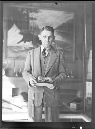 item thumbnail for Fishing contest, 1937 [2]
