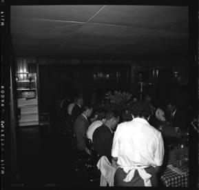 item thumbnail for Lake Coeur D'Alene (Idaho), people having dinner, 1959 [1]