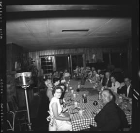 item thumbnail for Lake Coeur D'Alene (Idaho), people having dinner, 1959 [5]