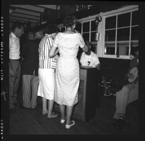 item thumbnail for Lake Coeur D'Alene (Idaho), people at a dance, 1959 [1]