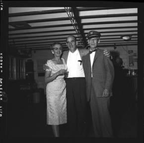 item thumbnail for Lake Coeur D'Alene (Idaho), people at a social gathering, 1959