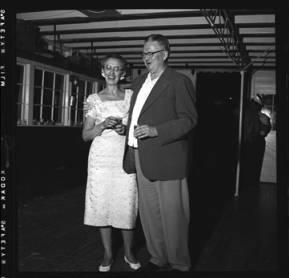 item thumbnail for Lake Coeur D'Alene (Idaho), people at a dance, 1959 [3]