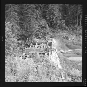 item thumbnail for Dam used for flaming, 1959