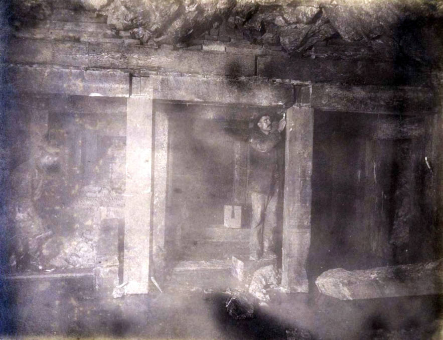 item thumbnail for St. Lawrence Mine 600 ft. level East [no. 1192]