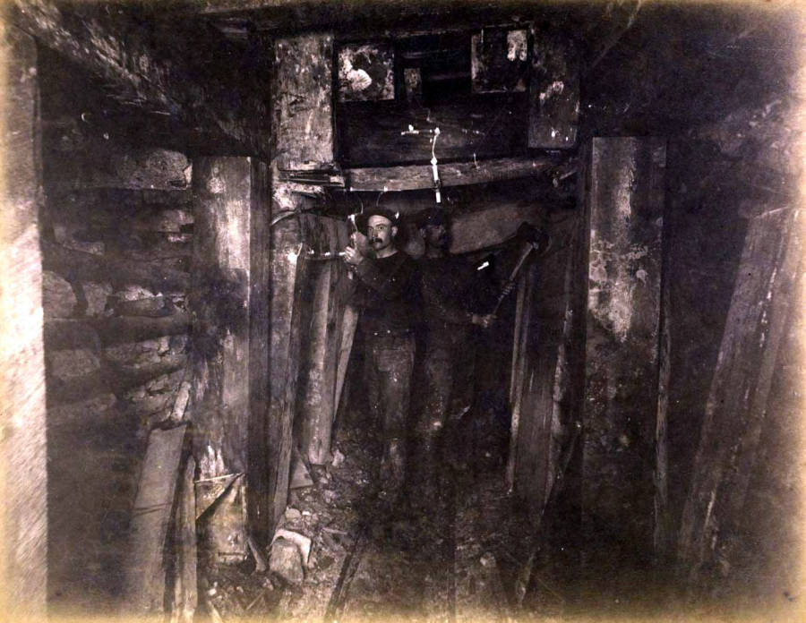item thumbnail for Mountain Consolidated Mine 100 ft. level [no. 1215]