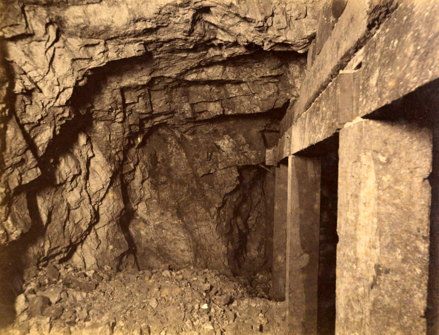 item thumbnail for Mountain Consolidated Mine 550 ft. level East [no. 1222]