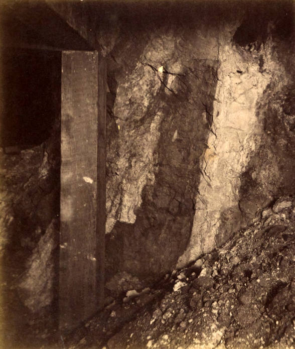 item thumbnail for Mountain Consolidated Mine 200 ft. level East sill floor  [no. 1226]