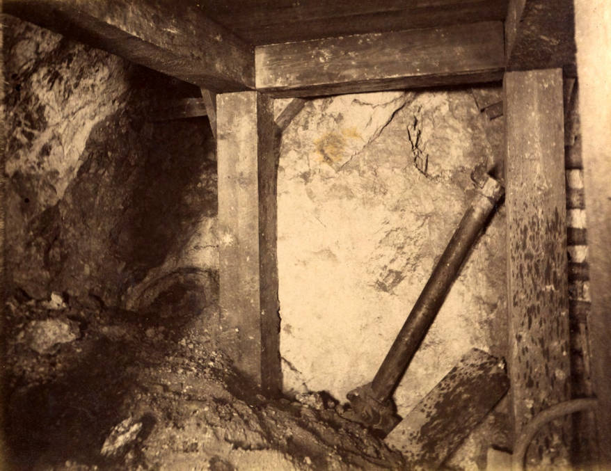 item thumbnail for Mountain Consolidated Mine 100 ft. level West sill floor  [no. 1227]