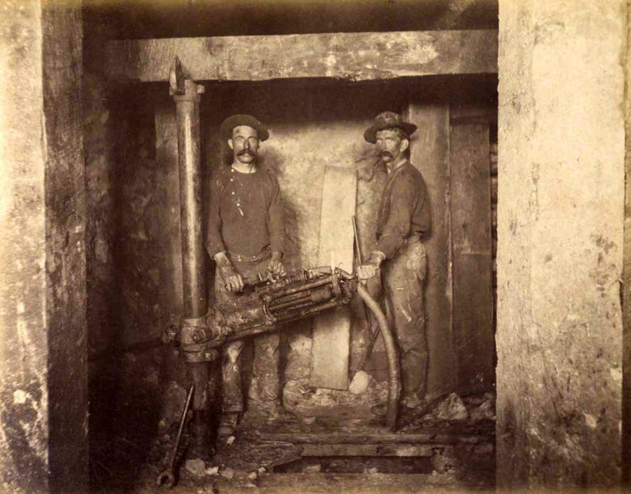 item thumbnail for Mountain Consolidated Mine 400 ft. level East sill floor  [no. 1229]