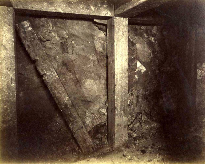 item thumbnail for Mountain Consolidated Mine 300 ft. level East sill floor  [no. 1230]